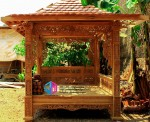Gazebo mebel jati