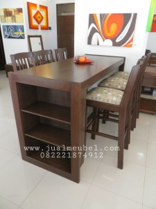 Model Set Kursi Makan Cafe Resto Minimalis