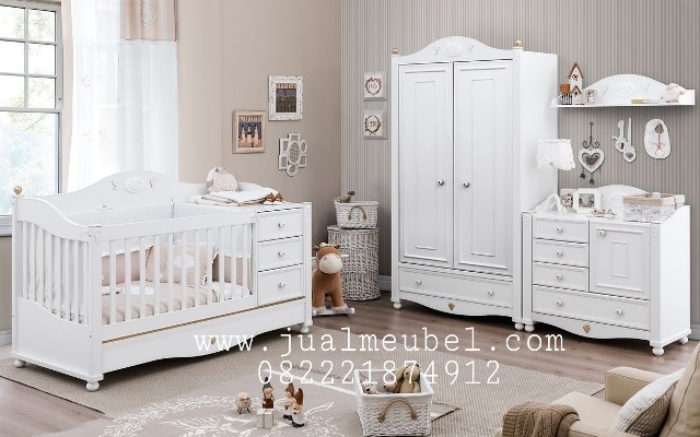 model kamar set box bayi anak duco minimalis