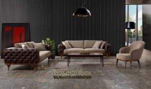 Set Kursi Sofa Ruang Tamu Model Chester